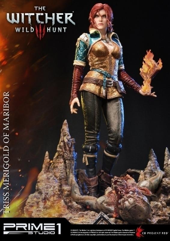 The Witcher 3: Wild Hunt - Triss Merigold of Maribor Statue