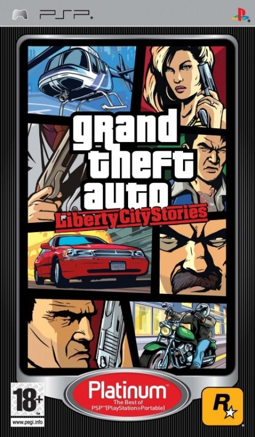 Grand Theft Auto Liberty City Stories (platinum)