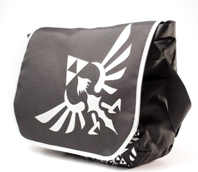 Nintendo Zelda Embroided Logo Messenger