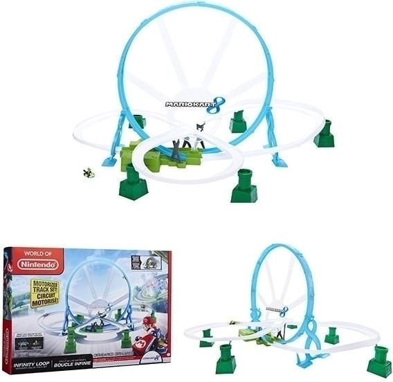 Nintendo Circuit looping Deluxe + Yoshi vehicle