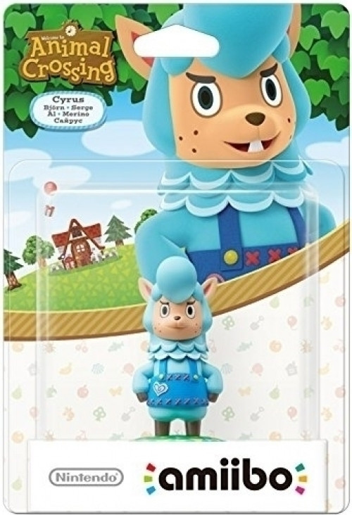 Cyrus Animal Crossing amiibo