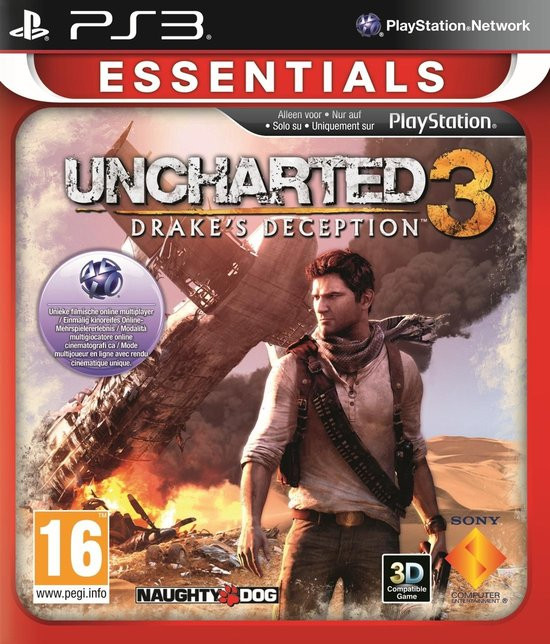 Goedkoopste Uncharted 3 Drake's Deception (essentials)