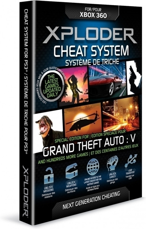 Afbeelding van Xploder Cheat System Grand Theft Auto 5