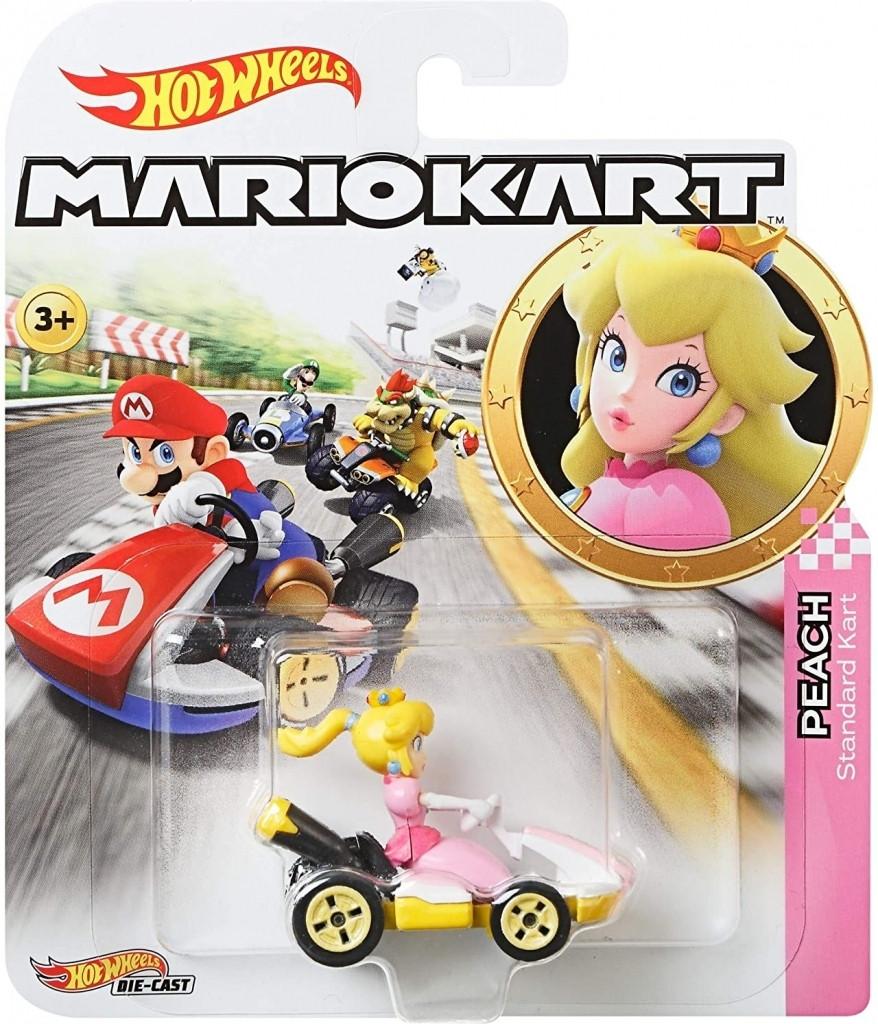 Hot Wheels Mario Kart - Peach Standard Kart kopen