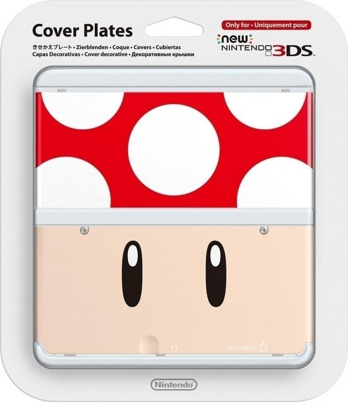Nintendo New Nintendo 3DS, Coverplate 021 Paddenstoel Pop (2212266)
