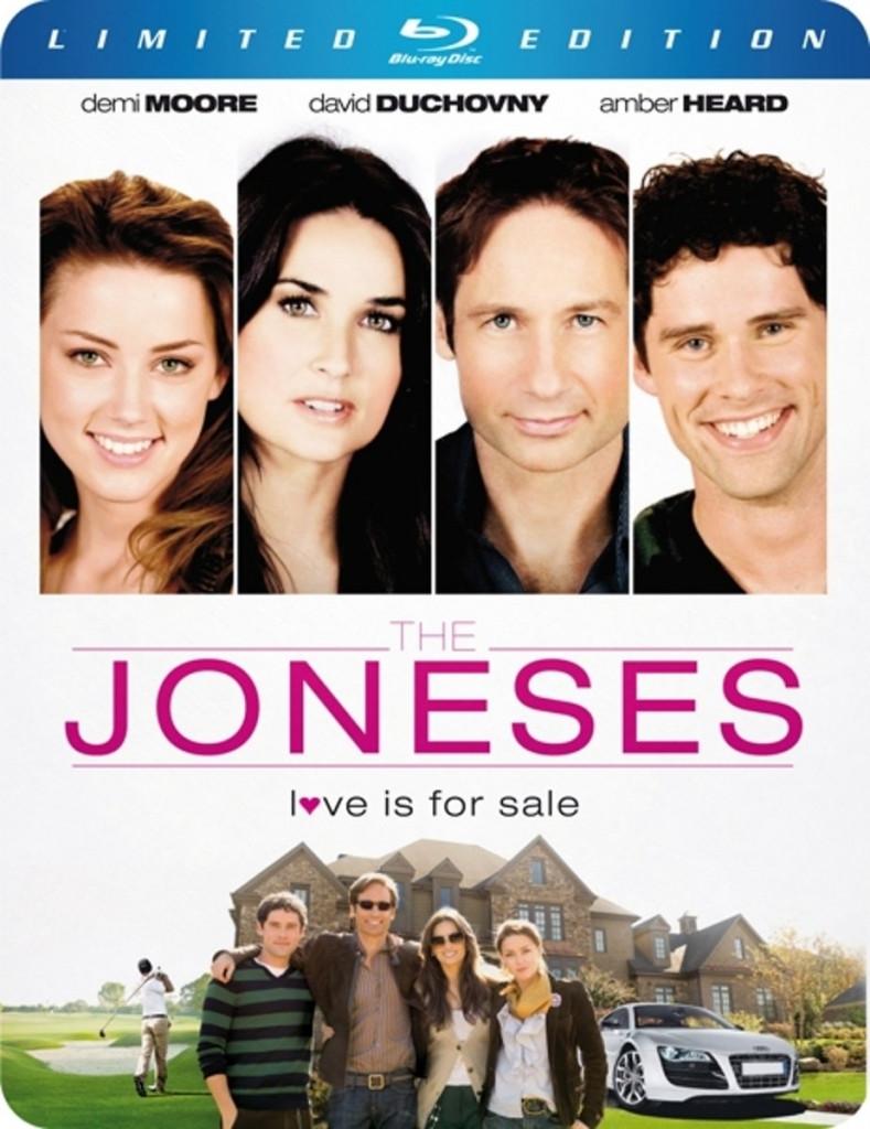 The Joneses (steelbook)