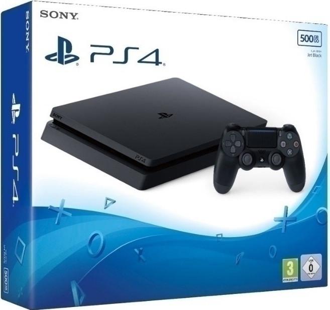 Goedkoopste Playstation 4 Slim (Black) 500GB