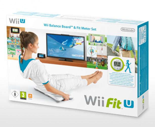 Wii Fit U (software) + Fit Meter + Balance Board
