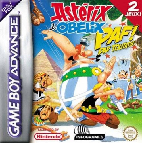 Image of Asterix & Obelix Paf Them All (Verpakking Frans, game Engels)
