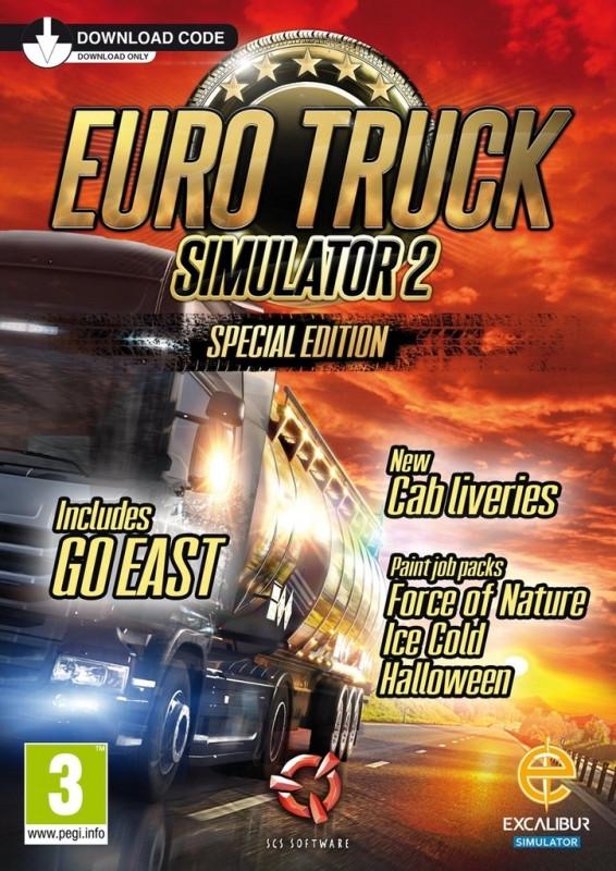 Euro Truck Simulator 2 Special Edition (Download Voucher)