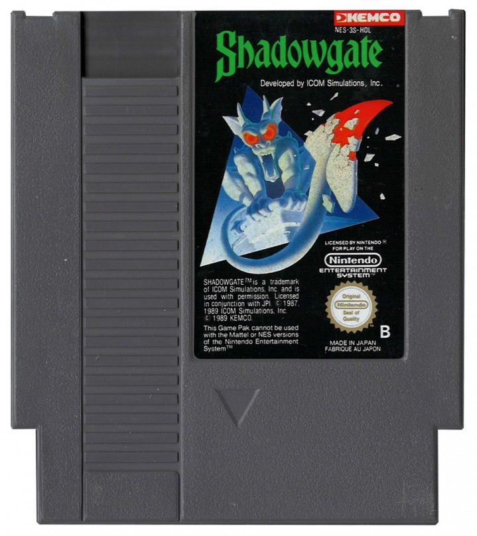 Shadowgate (losse cassette)