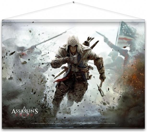 Assassin's Creed Wallscroll – Connor