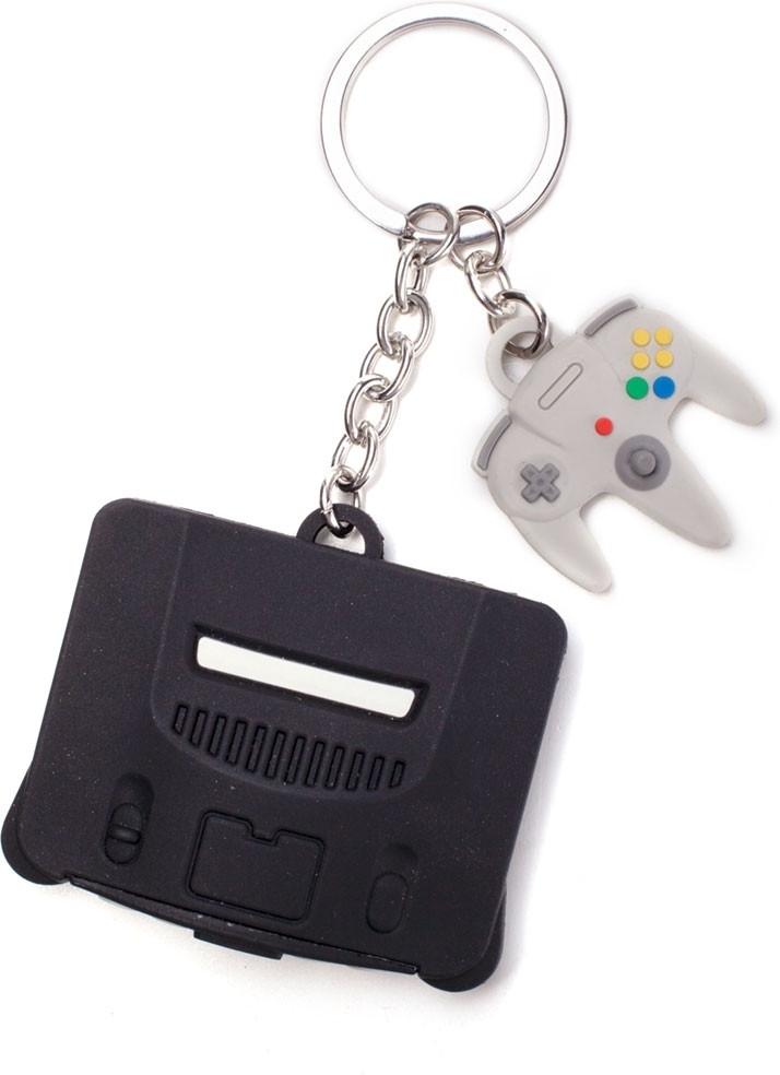 Nintendo - Nintendo 64 & Controller 3D Rubber Keychain kopen