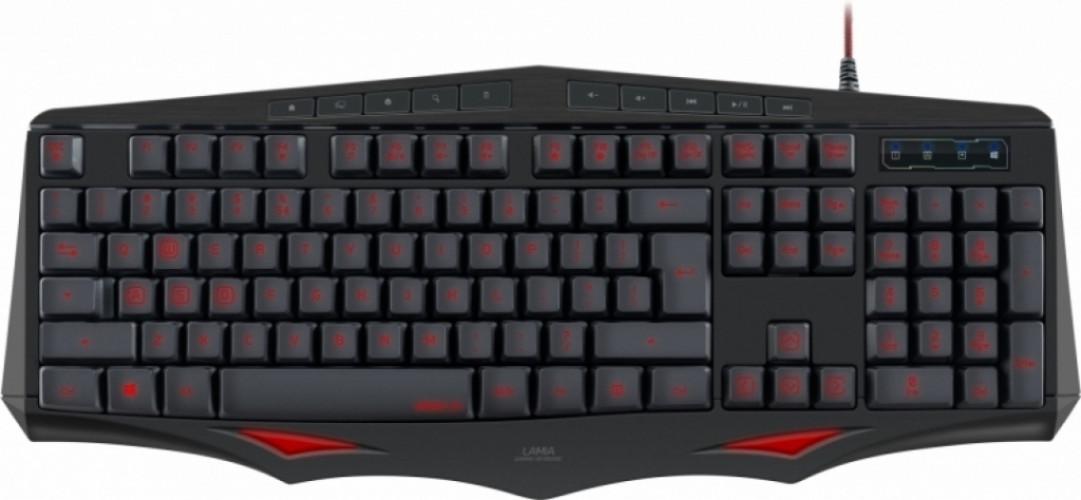 Speedlink Lamia Gaming Keyboard (US Layout) (Zwart)