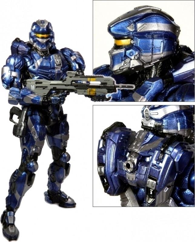 Halo 4 Play Arts Kai Figure - Spartan Warrior