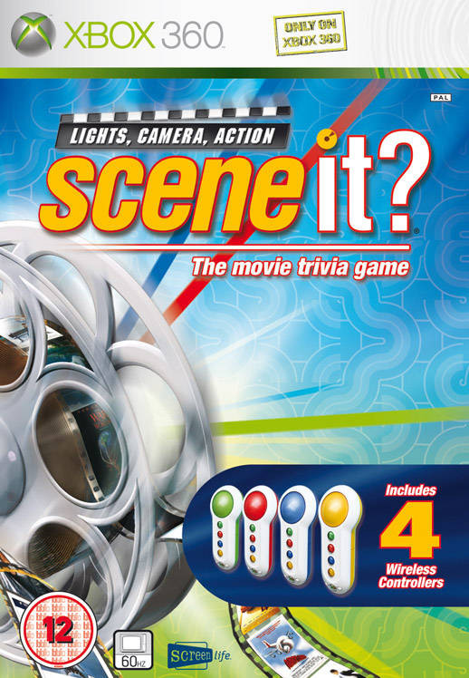 Scene It + 4 Wireless Buzzers kopen