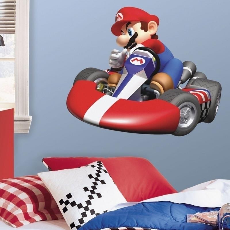 Mario Kart Giant Wall Decal