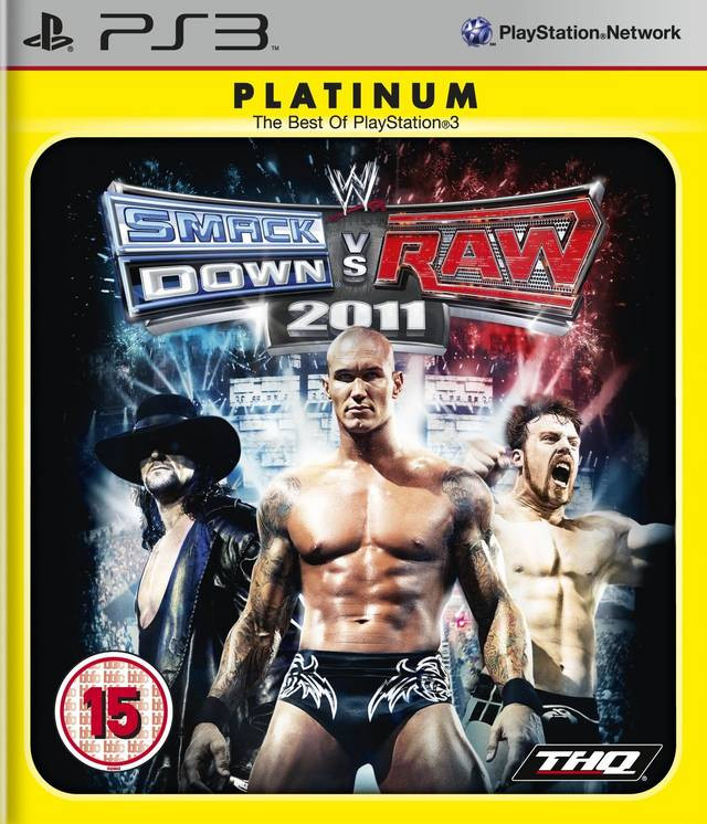 WWE Smackdown vs Raw 2011 (platinum)