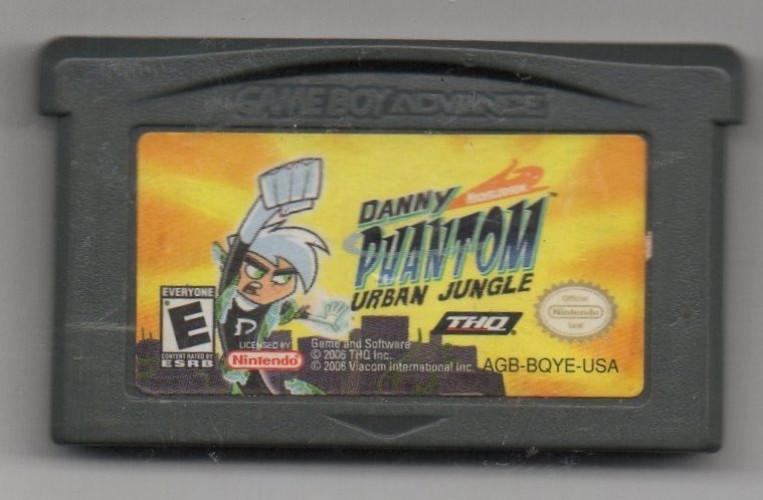 Een Danny Phantom Urban Jungle Losse Cassette  te koop aangeboden