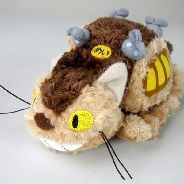 Ghibli - Totoro Pluche Cat Bus 12cm