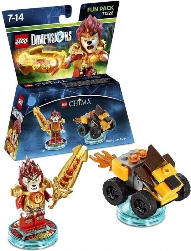 Lego Dimensions Fun Pack Chima Laval Warner bros kopen