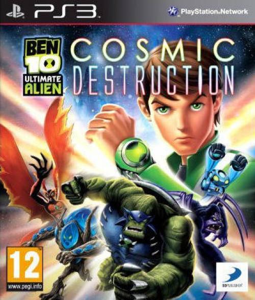 Image of Ben 10 Ultimate Alien Cosmic Destruction