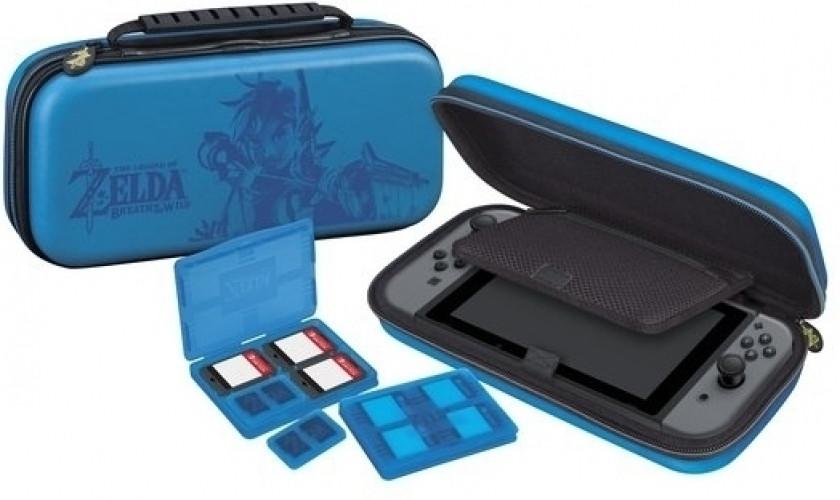 Goedkoopste Big Ben Deluxe Travel Case Blue - The Legend of Zelda Breath of the Wild (NNS42)