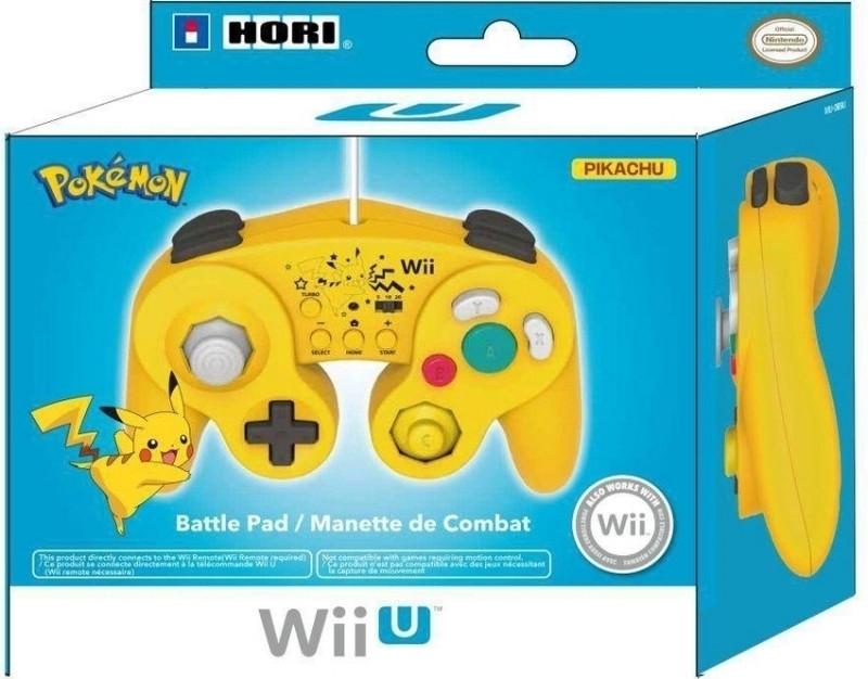 Hori Hori, Super Smash Bros Controller (Pikachu) Wii U (WIU-079U)