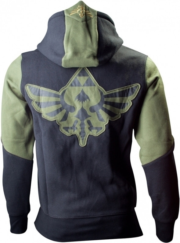 Zelda Hoodie Black/Green