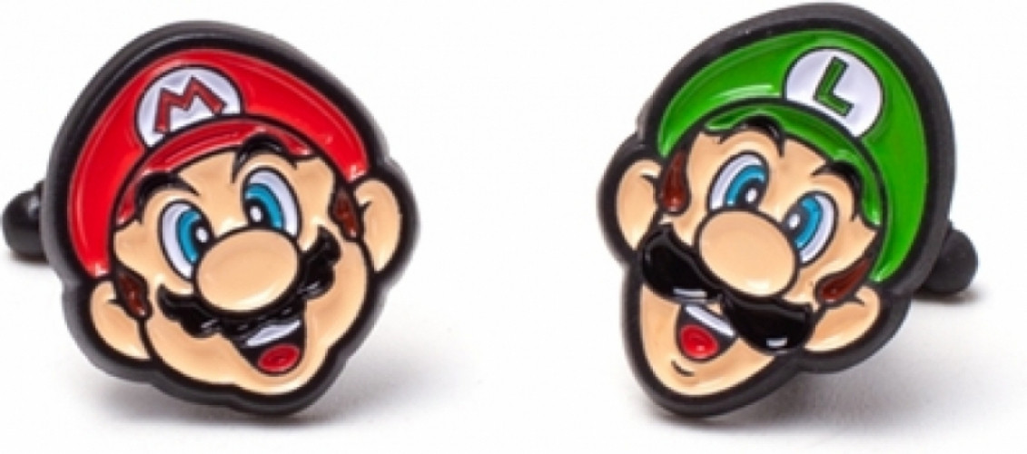 Nintendo - Mario & Luigi Cufflinks