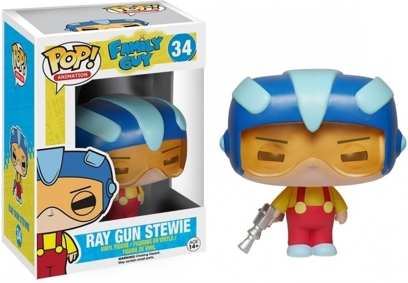 Family Guy Pop Vinyl: Ray Gun Stewie