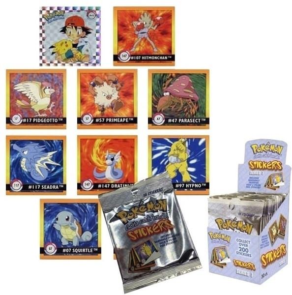 Image of Pokemon Stickers