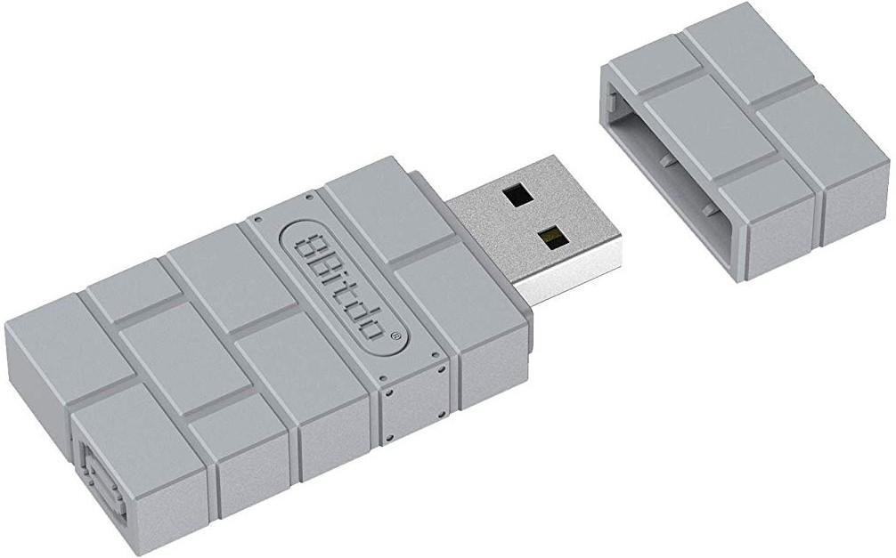 Afbeelding van 8Bitdo USB Wireless Adapter for PS Classic Edition