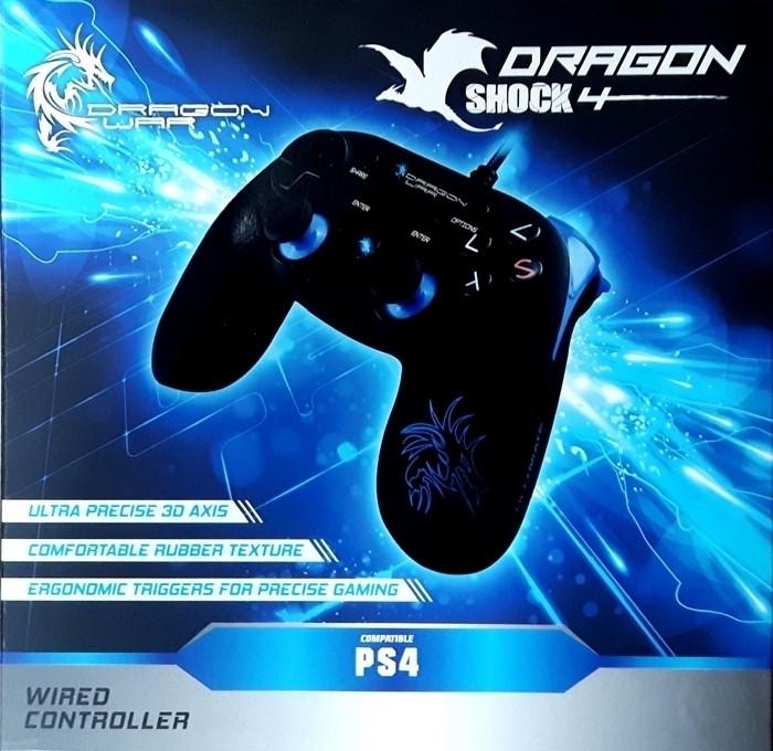 Image of Dragon War Dragon Shock 4 Wired Controller