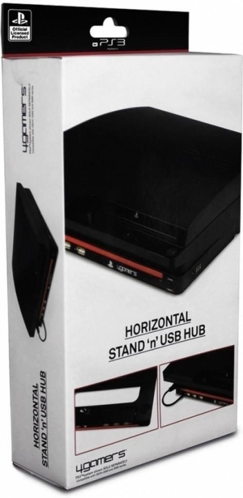 Image of 4Gamers Horizontal Stand and USB Hub