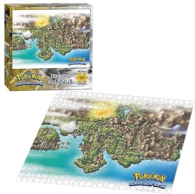 Pokemon Johto Puzzle