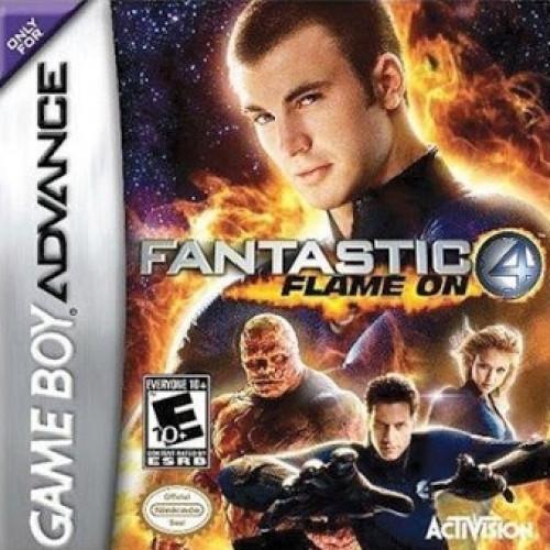 Fantastic Four Flame On