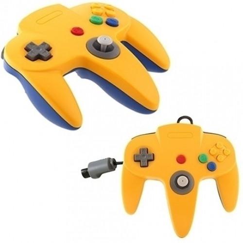 Nintendo 64 Controller Blauw-Geel (TTX Tech)