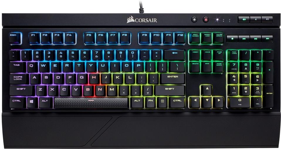 Afbeelding van Corsair Gaming K68 RGB Mechanical Keyboard Backlit LED Cherry MX Red (US Layout)