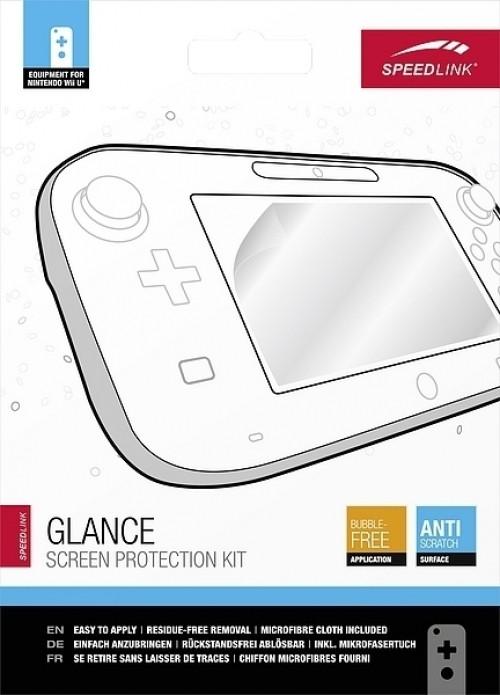 Speedlink, Glance Screen Protection Kit (transparant) Wii U