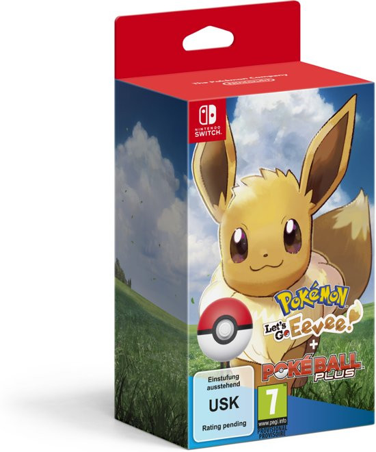 Goedkoopste Pokémon Let's Go Eevee! + Poké Ball Plus