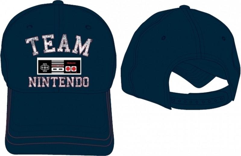 Team Nintendo Adjustable Cap