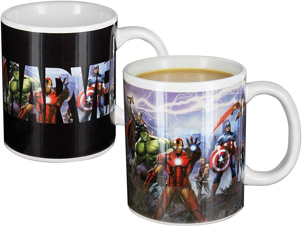Marvel Comics - The Avengers Heat Change Mug