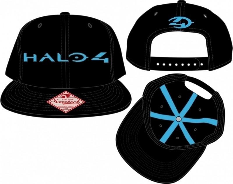 Halo 4 Snapback Flat Bill