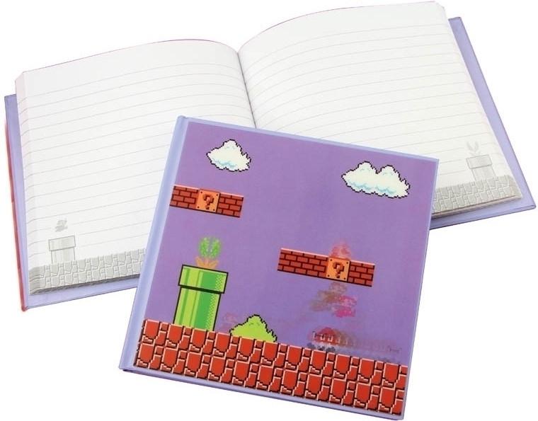 Super Mario Bros: 3d Motion Notebook