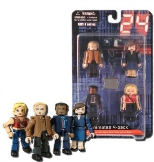 Image of 24 - Season 1 Minimates Box Set