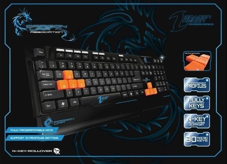 Image of Dragon War Recon Gaming Keyboard