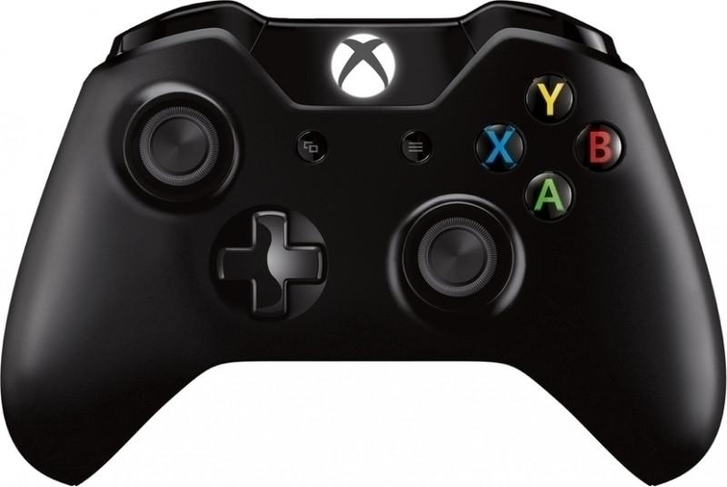 Microsoft Xbox One, Draadloze Controller met 3,5 mm headset-aansluiting (Zwart) (EX6-00002)