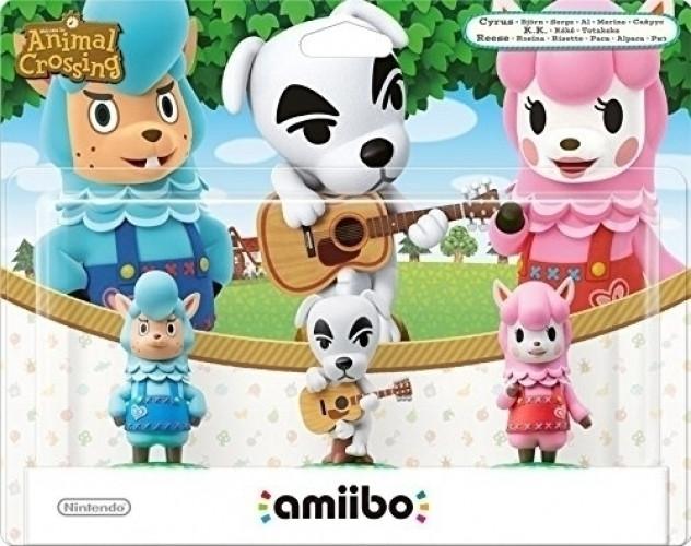 3-pack Animal Crossing amiibo