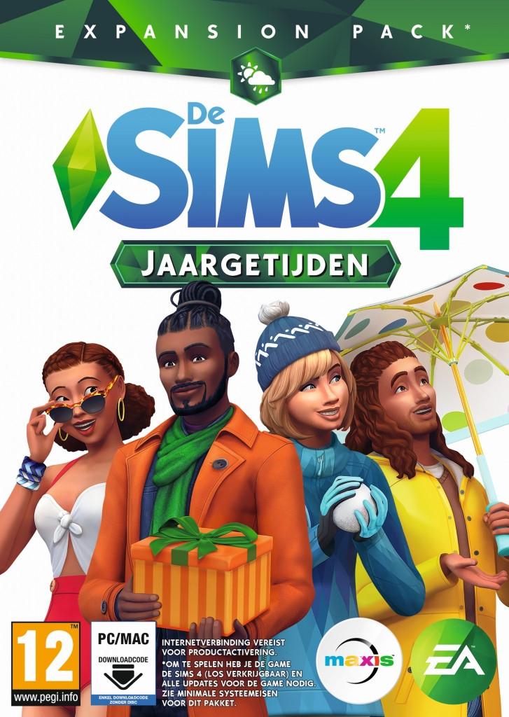 De Sims 4: Jaargetijden (Add-On) (Code in a Box)